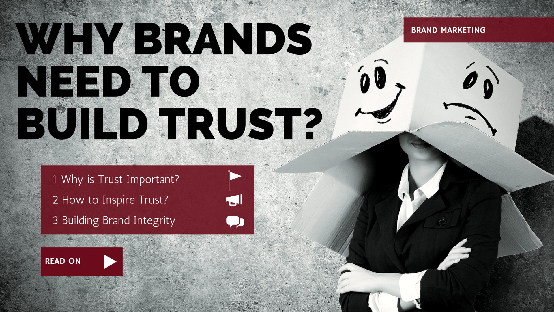 Why Brands Need to Build Trust?