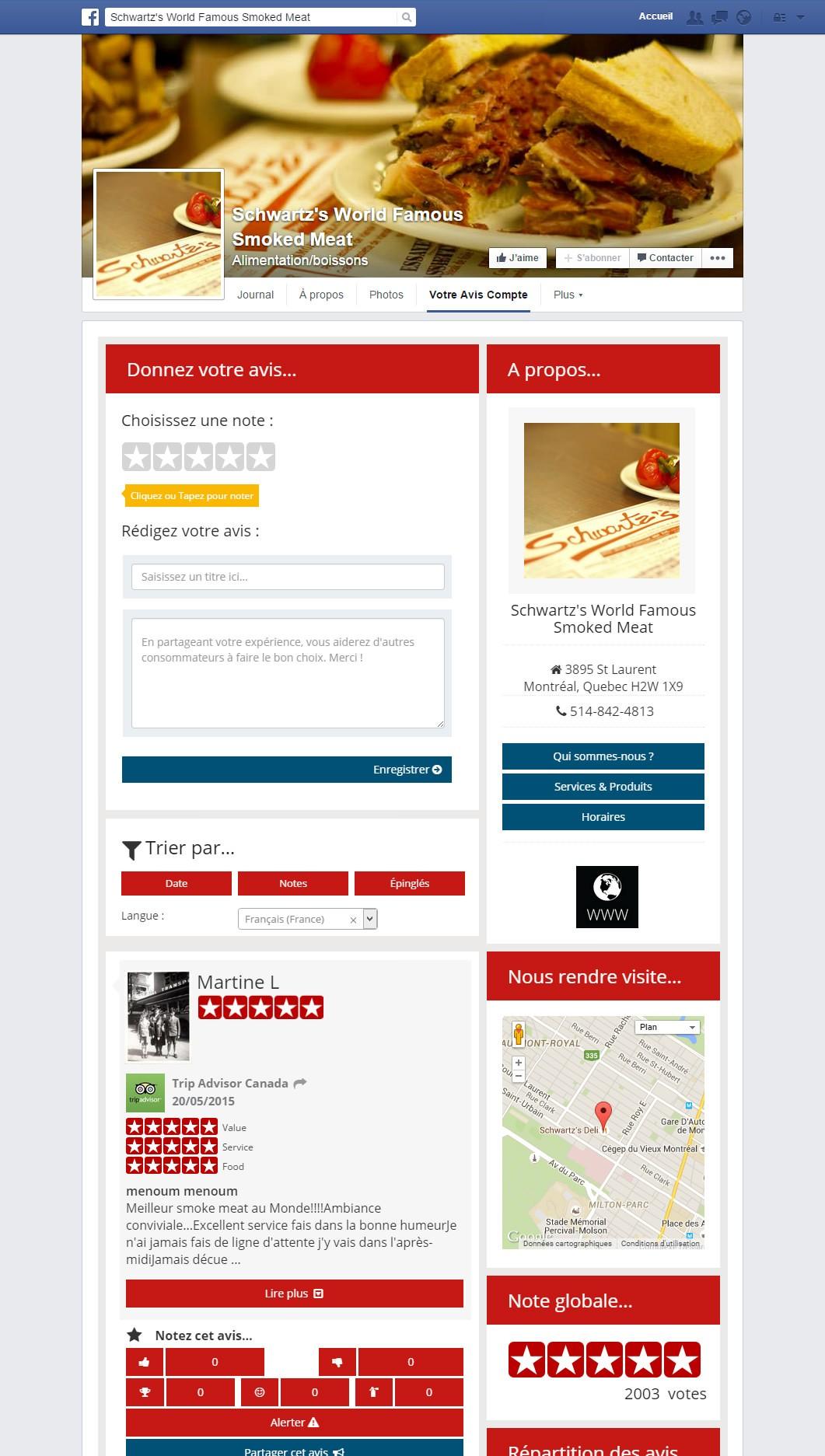 la page des avis clients un site web 2 0 reputation aegis. Black Bedroom Furniture Sets. Home Design Ideas